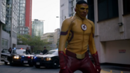 Kid Flash enters during Flashpoint