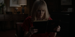 Alice learns Lucius's Journal in encoded