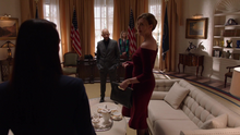 Lillian at the White House