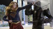Supergirl Fights Master Jailer