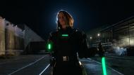 Alex Danvers' kryptonite-powered exosuit