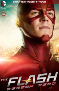 The Flash Season Zero chapter 24 digital cover