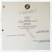 The Flash script title page - Trajectory