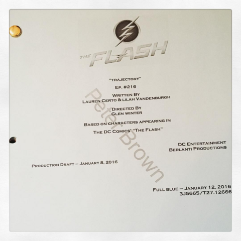 File:The Flash script title page - Trajectory.png