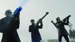 Snart, Darhk and Merlyn attacking the Legends
