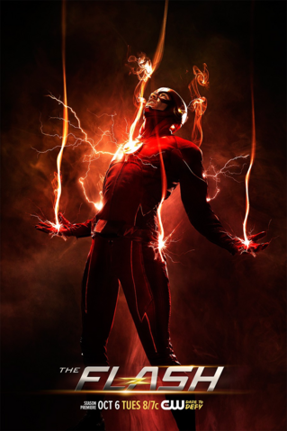 File:The Flash Season 2 poster - One more week.png