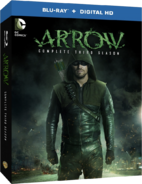 Arrow - Complete Third Season region A cover