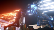 Savitar first real fight with Flash (3)