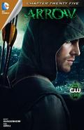 Arrow capítulo 25 portada digital