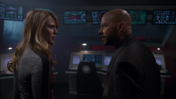 Lex scolds Supergirl's copy