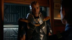 Novu tell Harbinger that Lex has a role to play