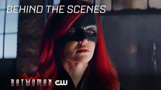 Batwoman Inside Grinning From Ear To Ear The CW