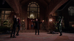 Damien Darhk stops Oliver, Thea and Laurel
