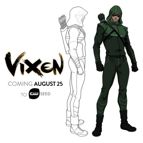 File:Vixen - Arrow concept art.png