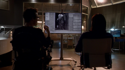 Eobard and Cisco watch a Buster Keaton movie