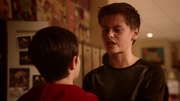 Young Tony Woodward and young Barry Allen fight (2)