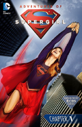 Adventures of Supergirl chapter 1 full cover
