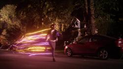 Nora correndo