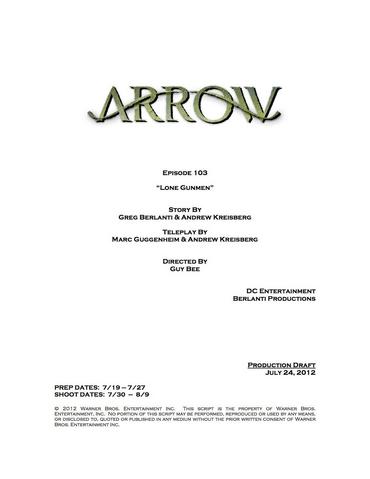 File:Arrow script title page - Lone Gunmen.png