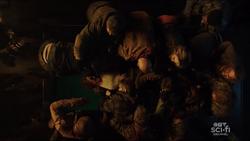 Zombies swarm over Sara