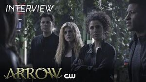 Arrow Ben Lewis And Katherine McNamara The CW