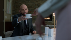 Lex discuss his plans with Lillian at the Luthor Foundation