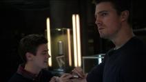 Arrow, Screenshot, Episode, Drei Geister, Bild 3