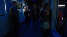Dinah and the others wait on Oliver's status