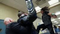 Khalil punches Black Lightning
