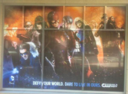 2015 SDCC poster - Defy your world. Dare to live in ours