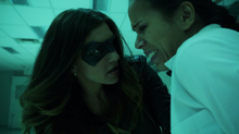 Dinah rescuing hostages