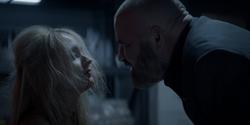 Julia gets tortured by Sabatino's men