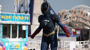 Supergirl's protective suit