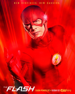 The Flash season 3 poster - New destinies. New dangers.