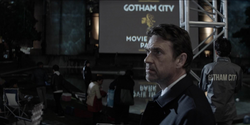 Jacob at the Gotham City- Movie in the Park