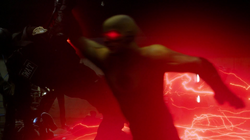 Reverse-Flash kills Eddie's taskforce