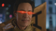 Eobard's red eyes