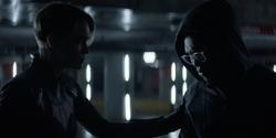 Kate talks Luke out of killing Robles