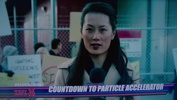 Linda Park reports on the S.T.A.R. Labs particle accelerator
