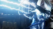 Livewire and Silver Banshee first fight with Supergirl and Flash (5)