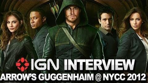 Arrow - Executive Producer Marc Guggenheim Interview - NYCC 2012