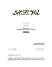 Arrow script title page - Legacies