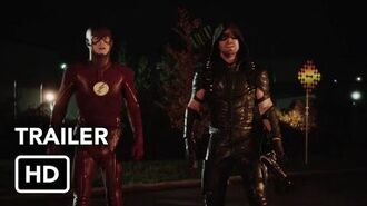 "The Flash & Arrow ""Heroes Join Forces"" Crossover Event - Extended Trailer (HD)"
