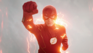 Flash running into a back hole