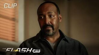 The Flash The Girl With The Red Lightning Scene The CW
