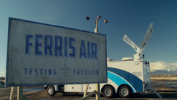 Ferris Air Testing Facility Sign