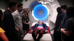 Kara is taken to S.T.A.R. Labs