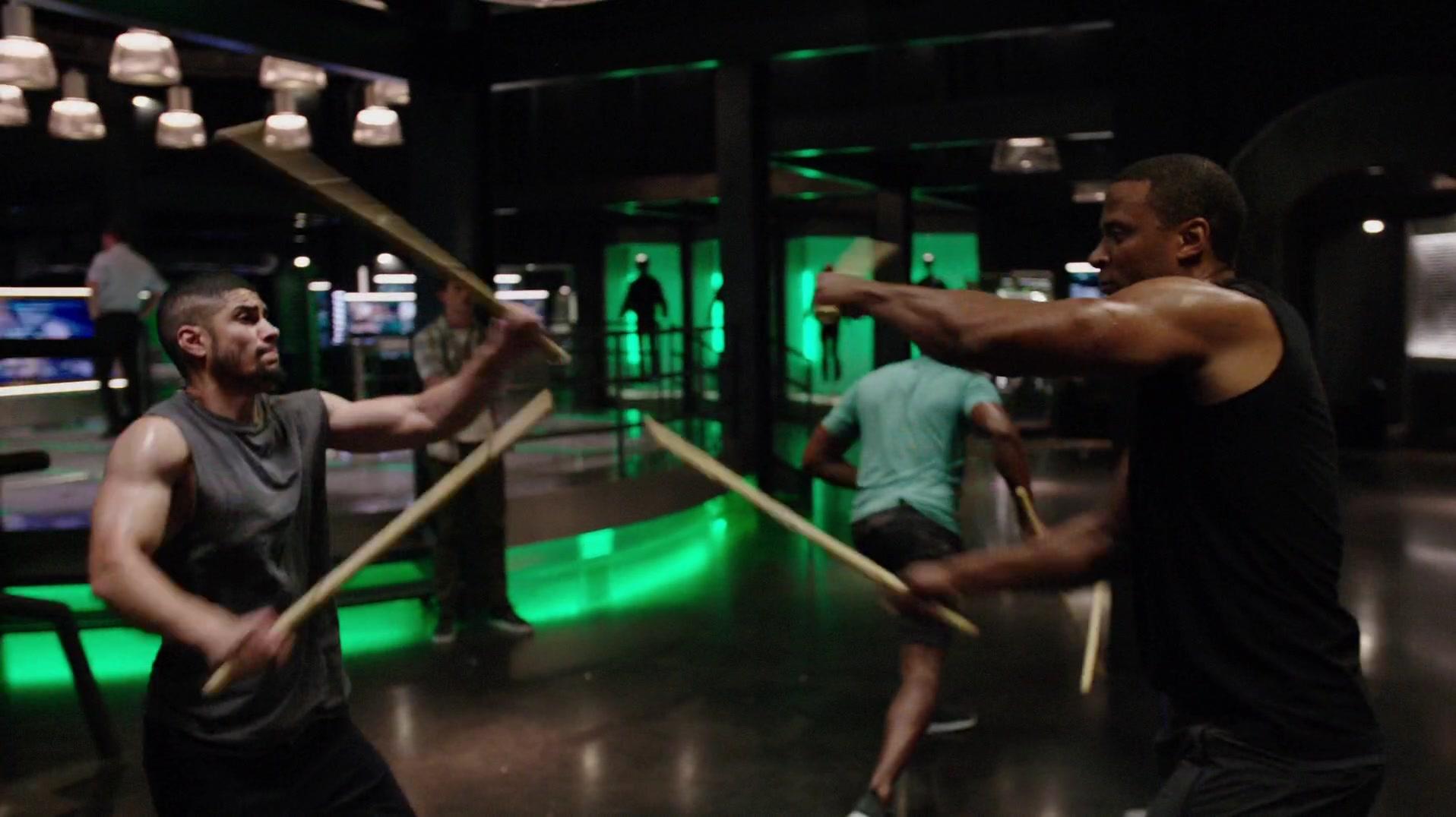 Stick-fighting | Arrowverse Wiki | FANDOM powered by Wikia