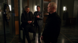 Snart, Merlyn and Darhk ally against Thawne