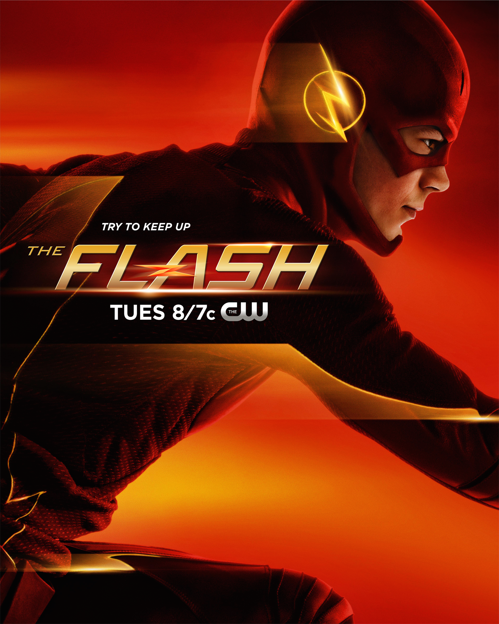 Uitzonderlijk Image - The Flash promo poster - Try to keep up.png   Arrowverse  @LG58